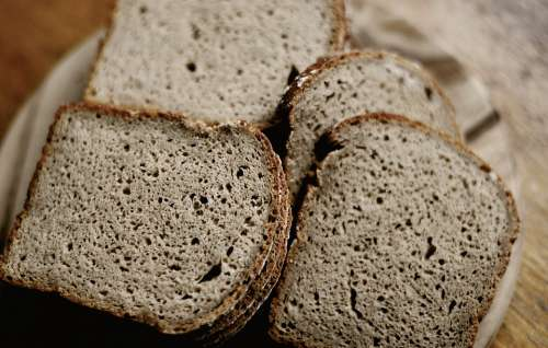 Bread Rye Bread Bakery Bake Food Craft Taste Eat