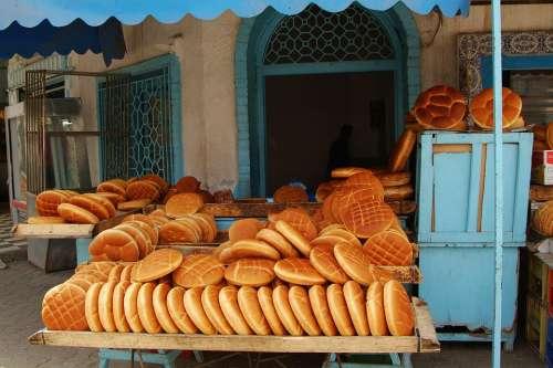 Bread Tunisia Market Bakery