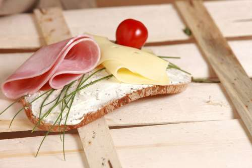 Bread And Butter Cheese Breakfast Diet Eat Healthy