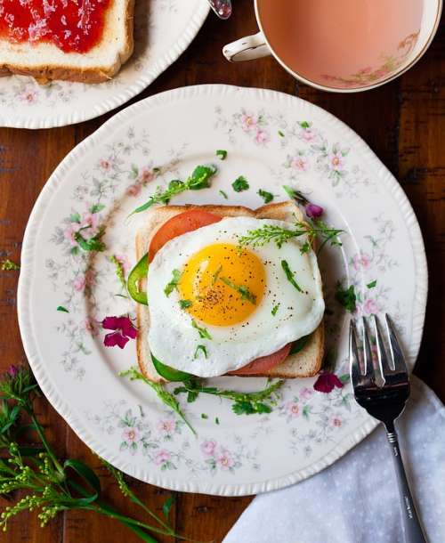 Breads Breakfast Delicious Egg Food Food Plating