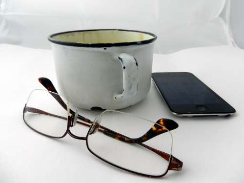 Breakfast Cup Sunglasses Phone Mobile Phone