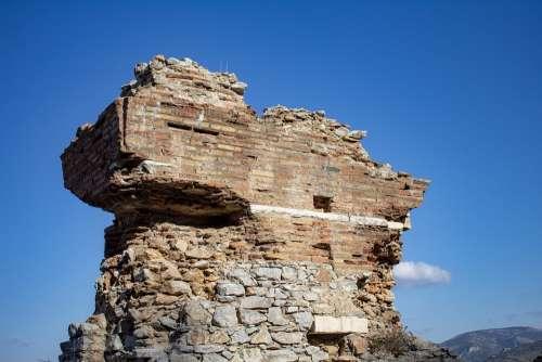 Brick Relic Rash Old Architecture Frontline