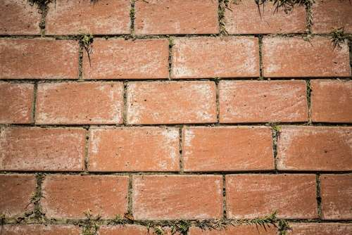 Brick Background Wall Texture Building Pattern