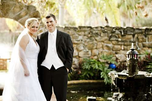 Bride Groom Wedding Couple Love Man Woman