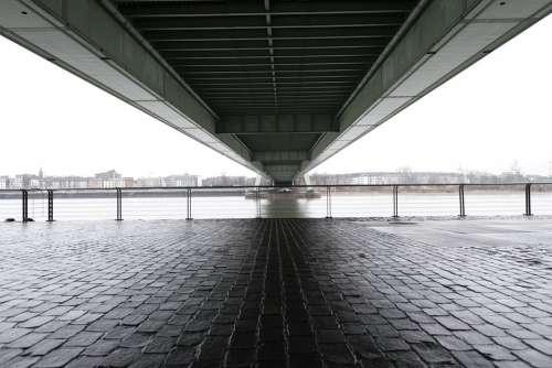 Bridge Cologne Rhine Pedestrian Architecture