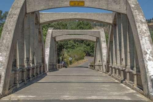 Bridge California Landmark Usa Sky Travel America