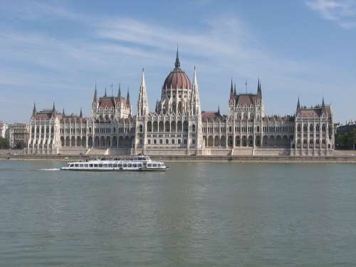 Budapest The Parliament Architecture Building City