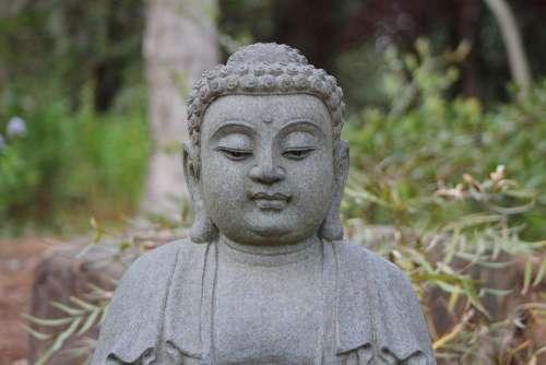 Buddha Peaceful Meditation Zen Spirituality Statue