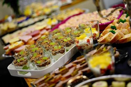Buffet Eat Celebration Party Food Benefit From