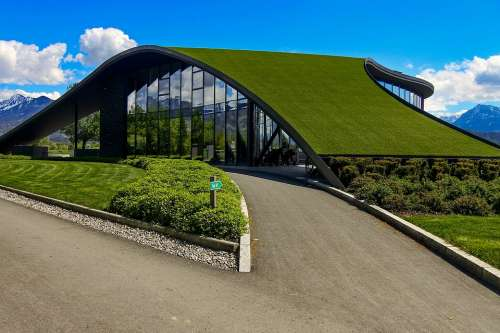 Building Green Architecture Window Summer