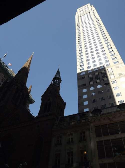 Building City Architecture Urban New York