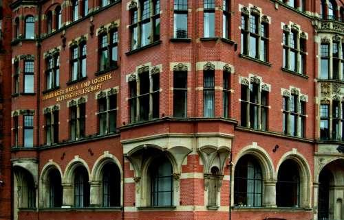 Building Brick Hamburg Speicherstadt Architecture