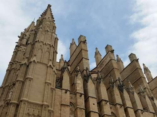 Building Architecture Palma De Mallorca Church