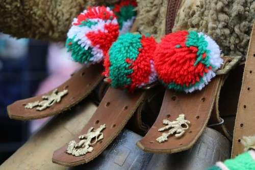 Bulgaria Costume Festival Games Kukeri Masquerade