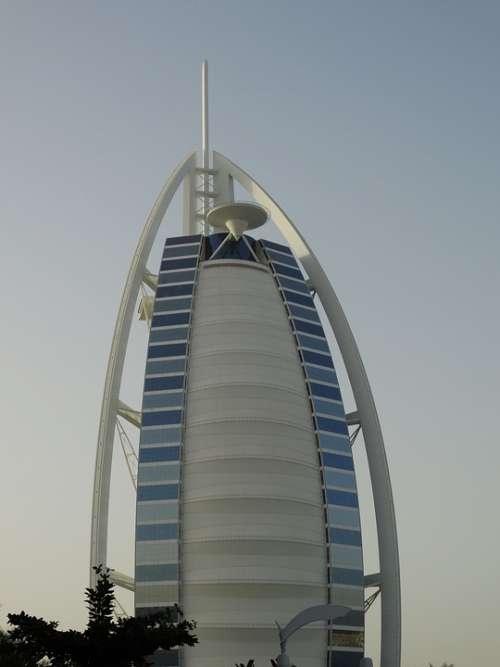 Burj Al Arab Dubai Hotel Building Architecture