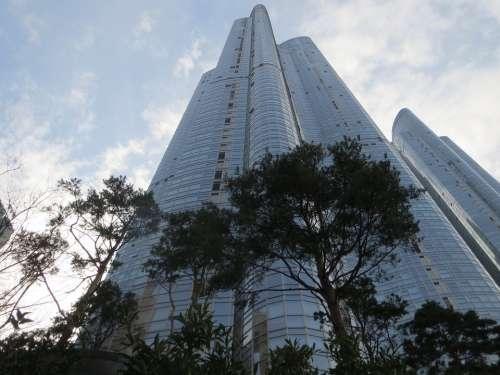 Busan Haeundae Beach Building High Rise