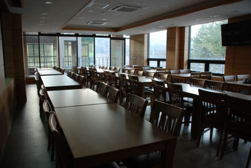 Cafeteria Refectory Canteen Tables Dining Tables