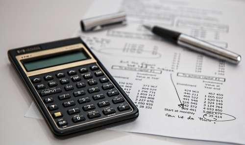 Calculator Calculation Insurance Finance Accounting