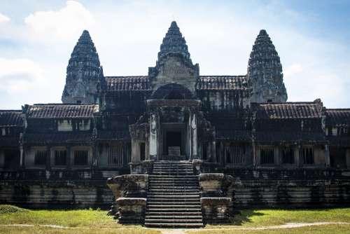 Cambodia Ankgor Wat Angkor Siem Reap Temple Ruin