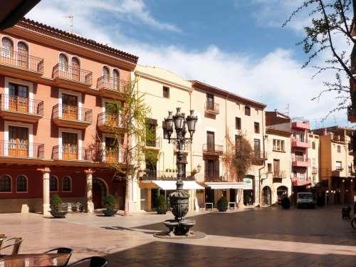 Cambrils Plaza Tarragona Source City Hall Center
