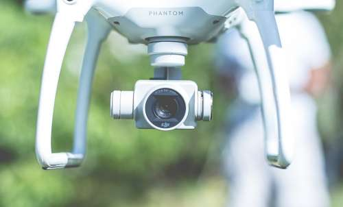 Camera Drone Flying Gadget Lens Technology Photo