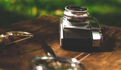 Camera Old Camera Retro Vintage Photos Photo Dslr