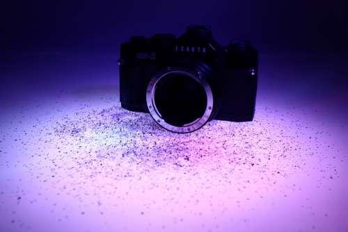 Camera Photo Recording Focus Lighting Retro