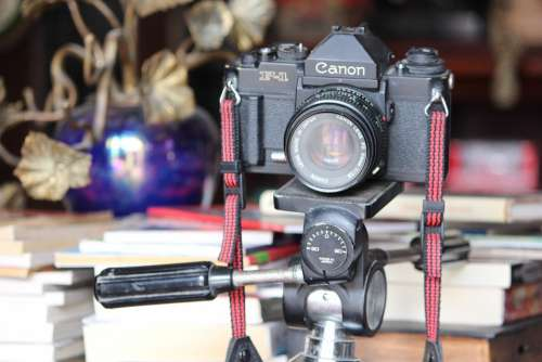 Camera Old Canon Photography Photographer Vintage