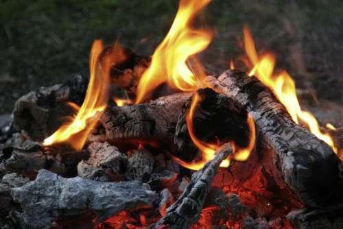 Campfire Fire Flame Heat Burn
