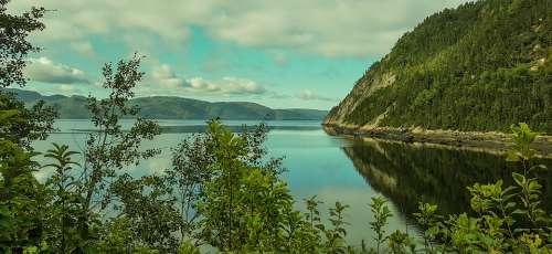 Canada Sea Water Landscape Travel Earth Summer