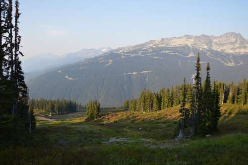 Canada British Columbia Nature Landscape Scenery
