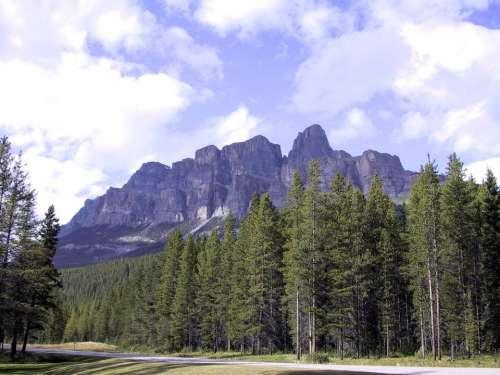 Canada Park Mountain Travel Landscape Nature