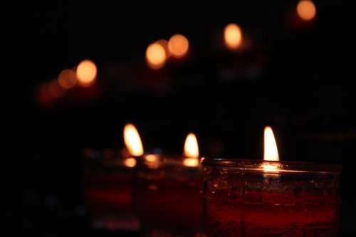 Candle Jesus C Christianity Church Religion God