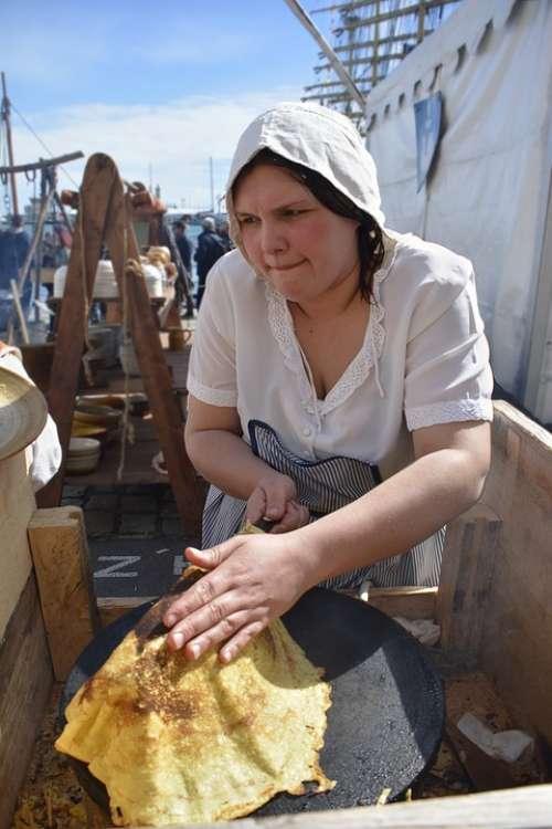 Candlemas Pancakes Breton Dessert Tradition