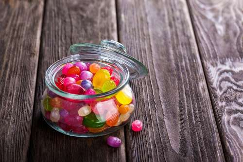 Candy Sweetmeats Sweets Dessert Food Colorful