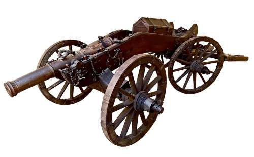 Cannon Battle Baroque Military Artillery Weapon