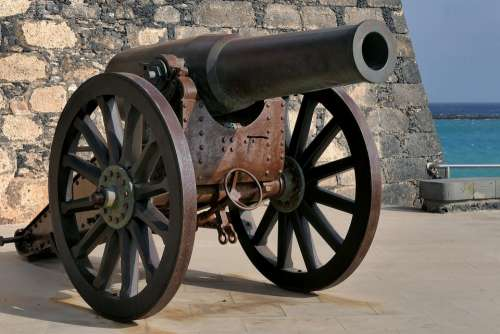 Cannon The Barrel Tow Truck Militaria Weapons