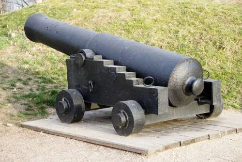 Cannon Ship 19Th Century Battle