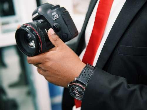 Canon Lenses Photographer Camera Dslr Equipment