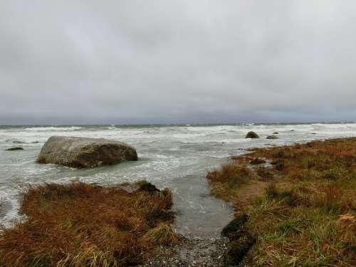 Cape Arkona Clouds Beach Rügen Baltic Sea