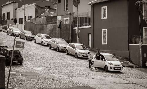Cape Town Road Malay Quarter Auto Get Off