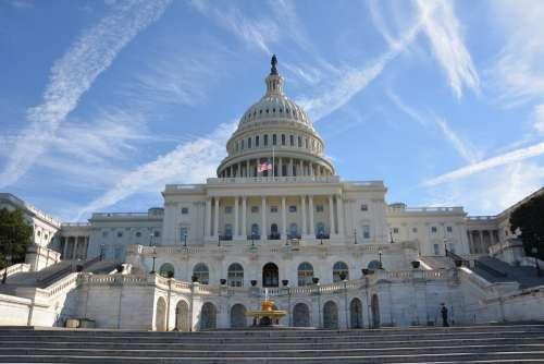 Capitol Washington Usa Architecture America
