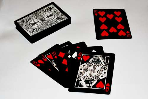 Card Game A Deck Of Cards Poker Gambling Casino