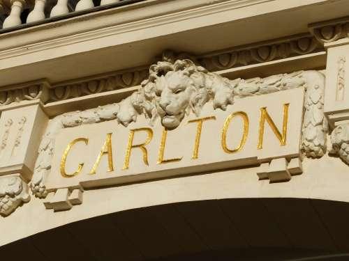 Carlton Facade Cannes Croisette France Europe