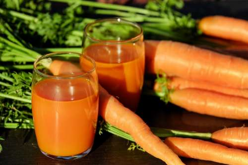Carrot Juice Juice Carrots Vegetable Juice Vitamins