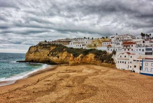 Carvoeiro Portugal Mar Costa Relaxation Europe