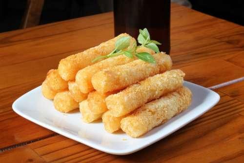Cassava Fries Snack
