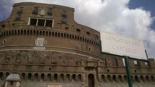 Castel Sant'Angelo Rome Tiber Tiber Castle Vatican