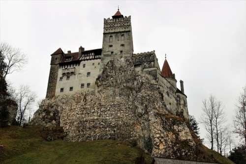 Castelul Bran Romania Castle Europe Autumn