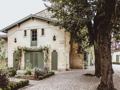 Castle France Travel Tourism Wine Grape Village